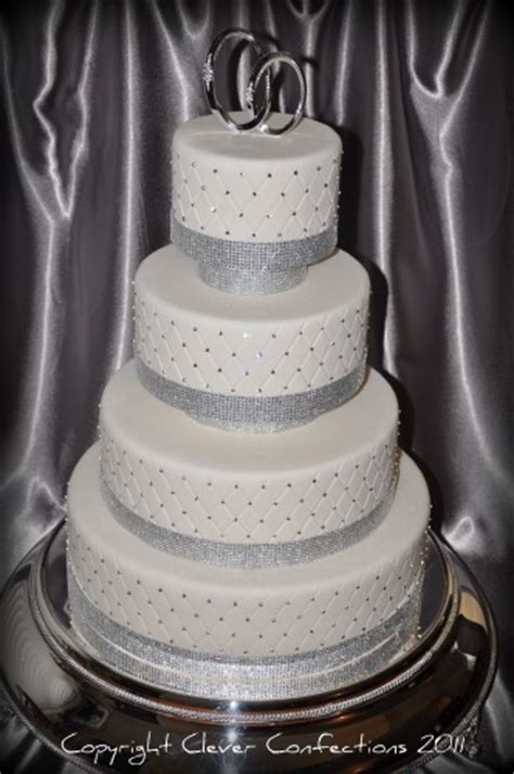bling wedding cakes bling bling wedding cake this fondant covered cake is