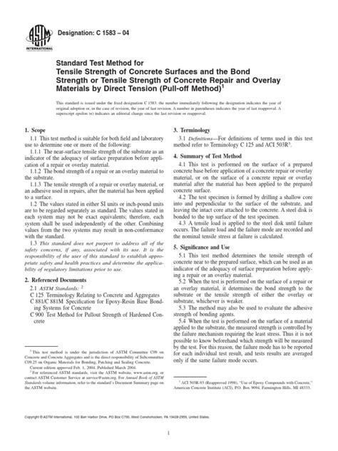 C1583.pdf   Strength Of Materials   Ultimate Tensile Strength