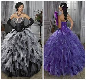 Purple And Black Dresses For Sweet 16 | www.imgkid.com ...