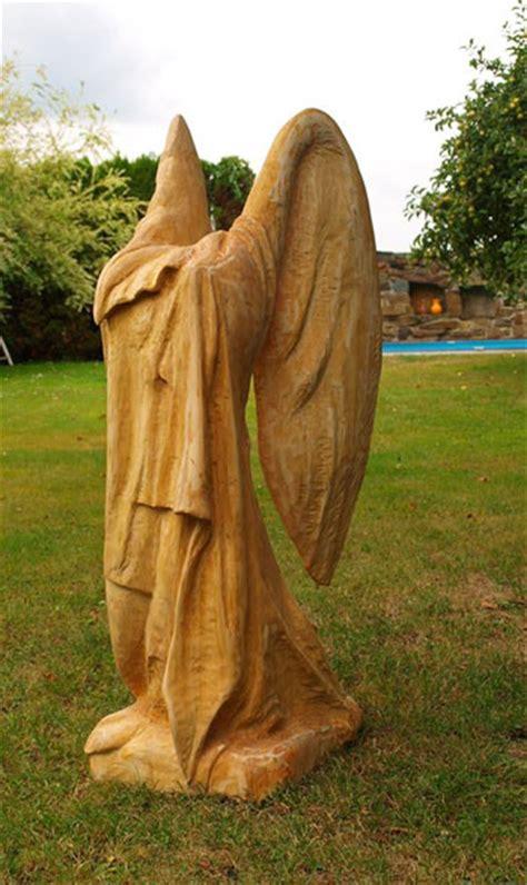 Holzskulpturen Für Den Garten by Engel Skulpturen Garten Engel Garten Dekofigur