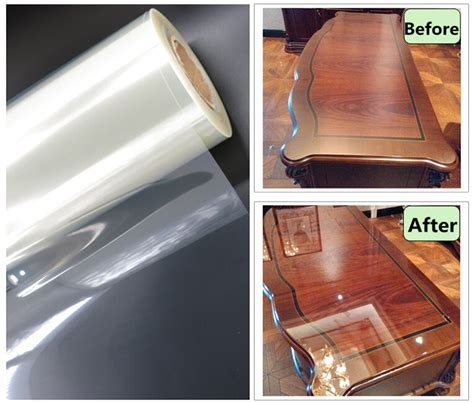 sunice high glossy transparent furniture protective film
