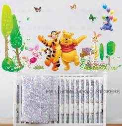 removable xtra large winnie the pooh trees wall stickers