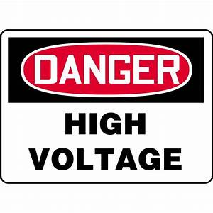 Danger / High Voltage Sign | GEMPLER'S