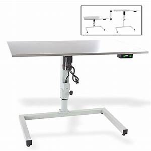 H henverstellbarer tisch mit elektroantrieb von dema for Höhenverstellbarer tisch