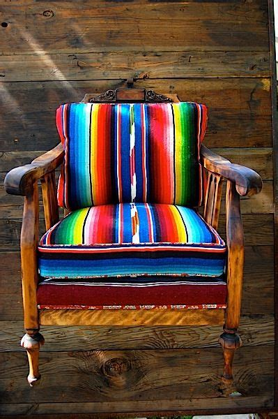 serape chair by totem mexican boho