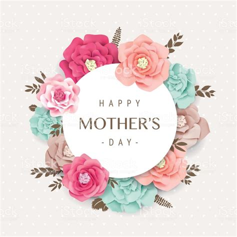 happy mothers day stock illustration  image