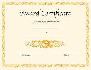 Retardant Certificate Template by 25 Best Ideas About Award Certificates On