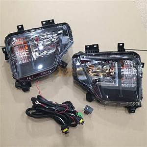 Fog Lights Driving Lamp Assembly Kit For Mitsubishi New Triton L200 Pickup 2019 2020