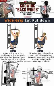 How To Wide Grip Lat Pulldown