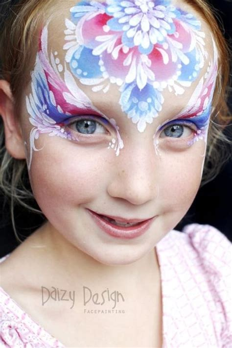 amazing face paintings  daizy design  wondrous