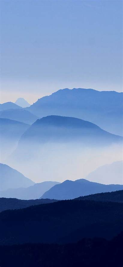 Iphone Layers Sky Mountain Mountains Layer Wallpapers