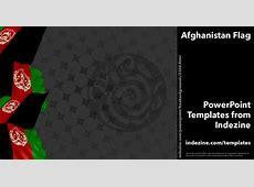 Afghanistan Flag 09 PowerPoint Templates