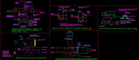 air handling unit dwg detail  autocad designs cad