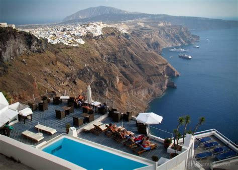 Photo of the Week: Luxury on the Volcanic Cliffs of Santorini