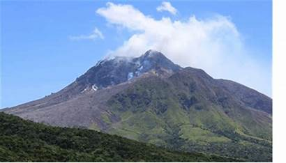 Montserrat Volcano Hills Soufriere Eruption Tourism Observatory