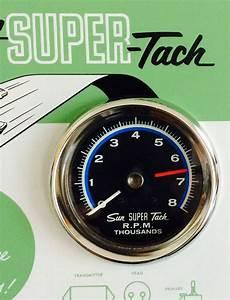 Nos Shelby Vintage Sun Super Tach Sst