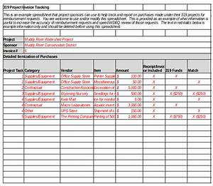 invoice tracking template excel invoice example With how to keep track of invoices and payments in excel