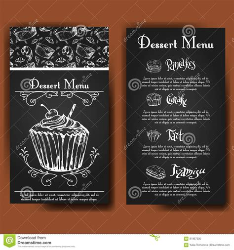 typography template vector illustration bakery design beautiful card with decorative typography element cafe menu