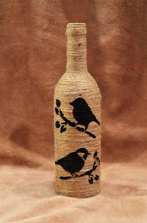 diy wine bottle painting ideas  home decor