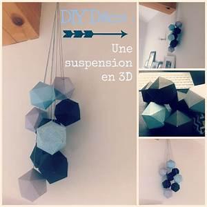 DIY Dco Une Suspension En 3D Pour Votre Intrieur