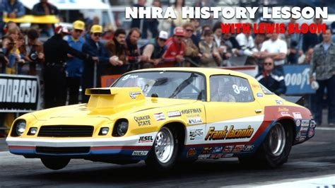 nhra history lesson wlewis bloom  ps  youtube