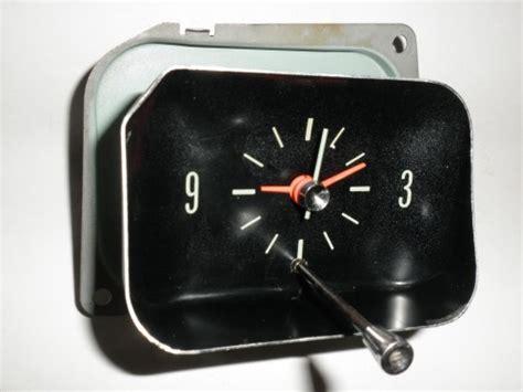 chevrolet chevelle el camino malibu clock