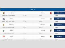 Horarios De Partidos Eliminatorias Rusia 2018 Ecuador