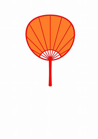 Uchiwa Clipart Fan Japanese Openclipart Japan Getdrawings