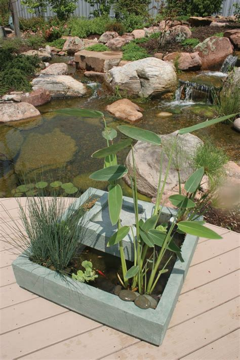 deck ponds garden water features 1000 images about deck pond on pinterest gardens lowes and pump
