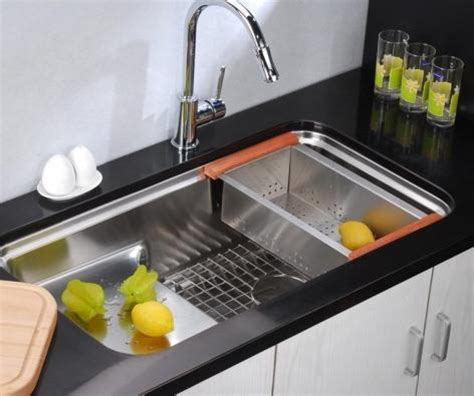 the sink colander stainless steel five simple kitchen gadgets that will streamline your