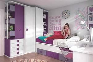 decoration chambre ado moderne en quelques bonnes idees With photo de chambre de fille ado