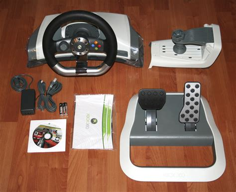 volante xbox360 xbox 360 wireless racing wheel