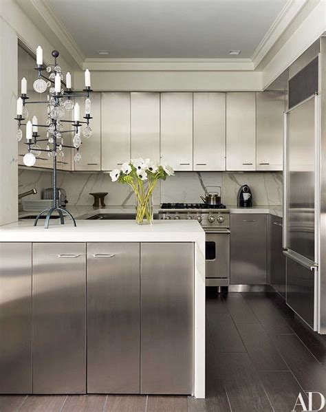 kitchens  classic marble countertops  architectural digest