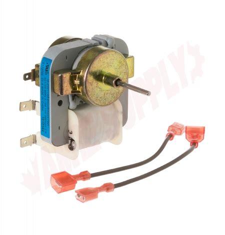 wrm ge refrigerator evaporator fan motor