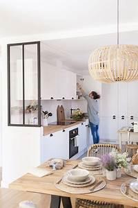 Faire Une Belle Table Pour Recevoir : cuisine conviviale avec lot ou coin salle manger c t maison ~ Melissatoandfro.com Idées de Décoration