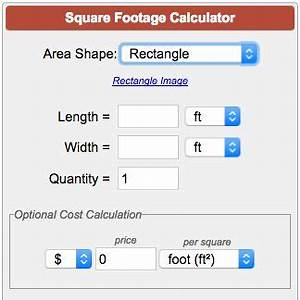 Calculate Square Footage Square Meters Square Yardage
