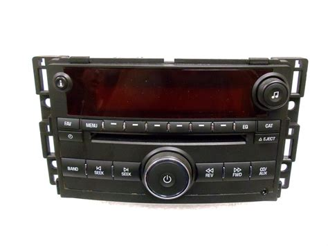 saturn ion vue radio mp3 cd player stereo 15878975