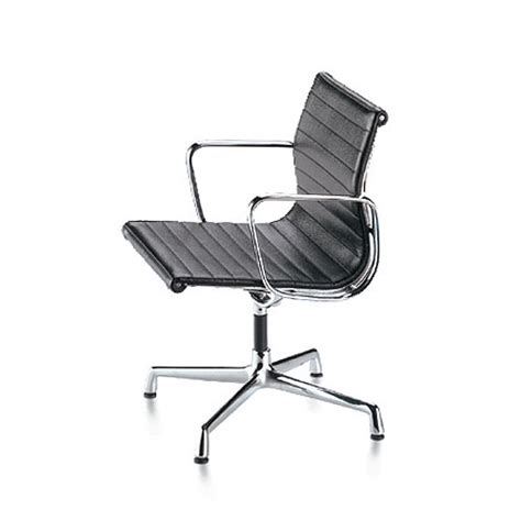 vitra miniature aluminum chair by charles and