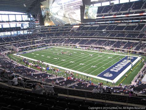 att stadium section  dallas cowboys rateyourseatscom