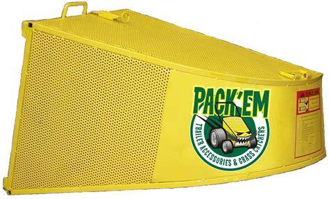 Grass Catcher Commercial Scag Advantage Pack'em Racks