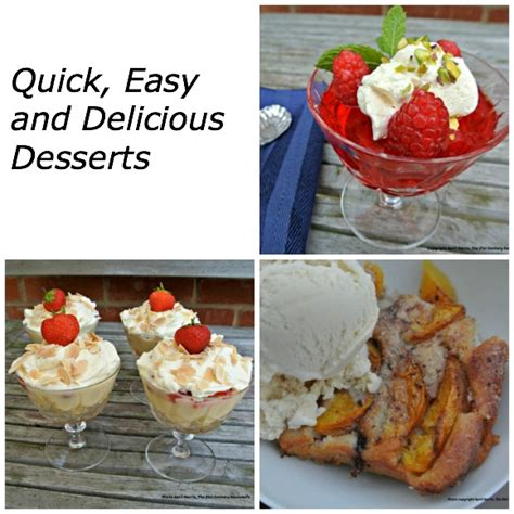 easy delicious desserts easy and delicious desserts for busy weeknights april j harris
