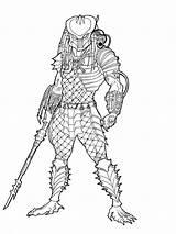 Predator Coloring Pages Drawing Mask Masked Printable Boys Template Sketch Ronniesolano Alien Easy Drawings Vs Draw Deviantart Avp Predators Getdrawings sketch template