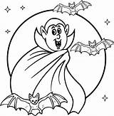 Vampire Coloring Pages Halloween Scary Printable Dracula Creepy Sheet Drawing Colouring Sheets Cartoon Twilight Bella Cool2bkids Looking Printables Adults Getcolorings sketch template