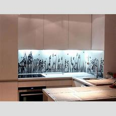 20 Design Ideas For Kitchen Glass Back Wall And The Best
