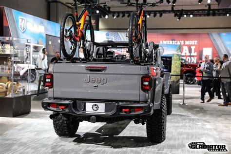 2020 Jeep Gladiator Mopar Accessories by Mopar Accessorized 2020 Jeep Gladiator In Sting Gray