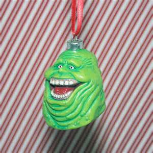 ghostbusters slimer ghost christmas ornament by regeekery on etsy
