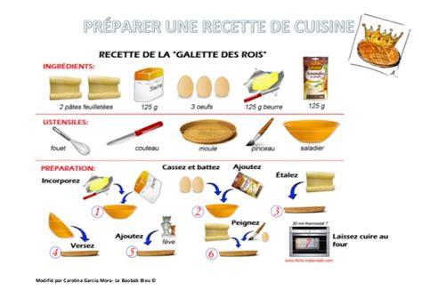 des recette de cuisine préparer une recette de cuisine