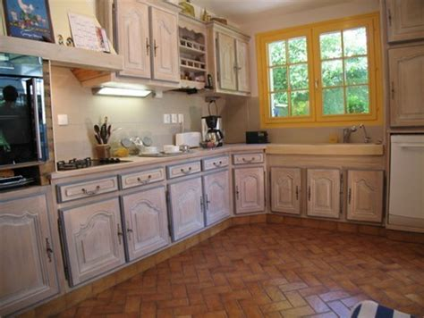 cuisine ceruse meuble cuisine ancien meuble en vieux bois bross