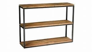 Etagere Bois Design : boldy grande tag re au design industriel en bois et fer ~ Teatrodelosmanantiales.com Idées de Décoration