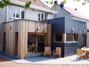 Extension Maison Préfabriquée : panneau bois pour extension maison ventana blog ~ Melissatoandfro.com Idées de Décoration